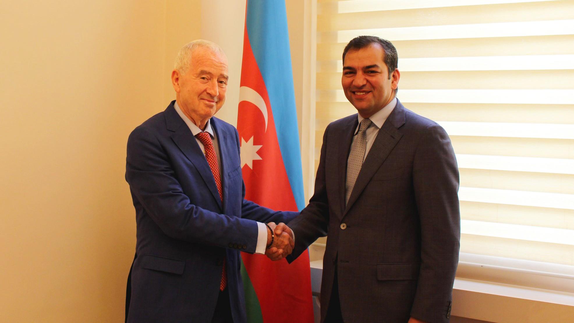 Dövlət Turizm Agentliyinin sədri Fuad Nağıyev Akos Niklai ilə görüşüb