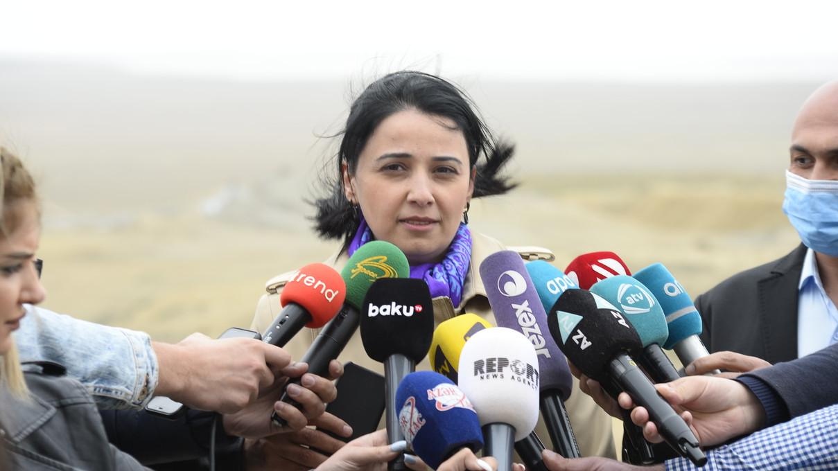 Dövlət Turizm Agentliyi Palçıq Vulkanları Turizm Kompleksinə mediatur təşkil edib}