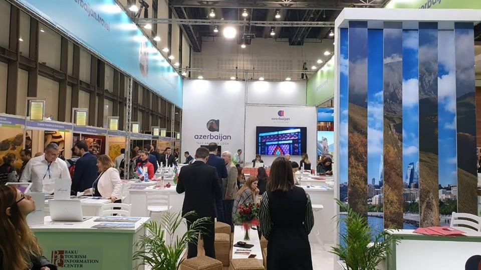 Azərbaycan İsraildə keçirilən turizm sərgisində uğurla iştirak edir