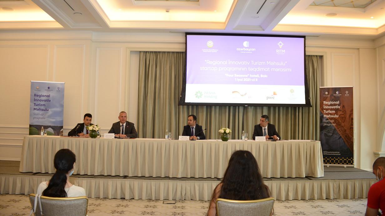 """>Regional turizmin inkişafını hədəfləyən """"RİTM"""" proqramı ictimaiyyətə təqdim edilib"""