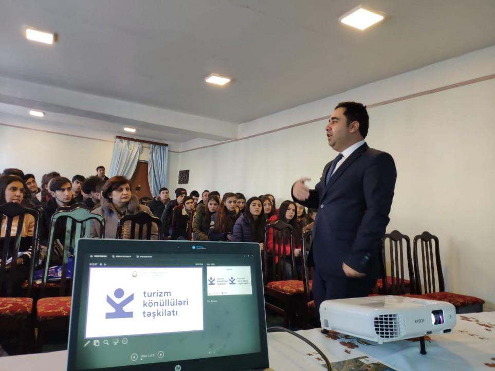 >Turizm Könüllüləri Təşkilatının Şəki nümayəndəliyi təsis olunub