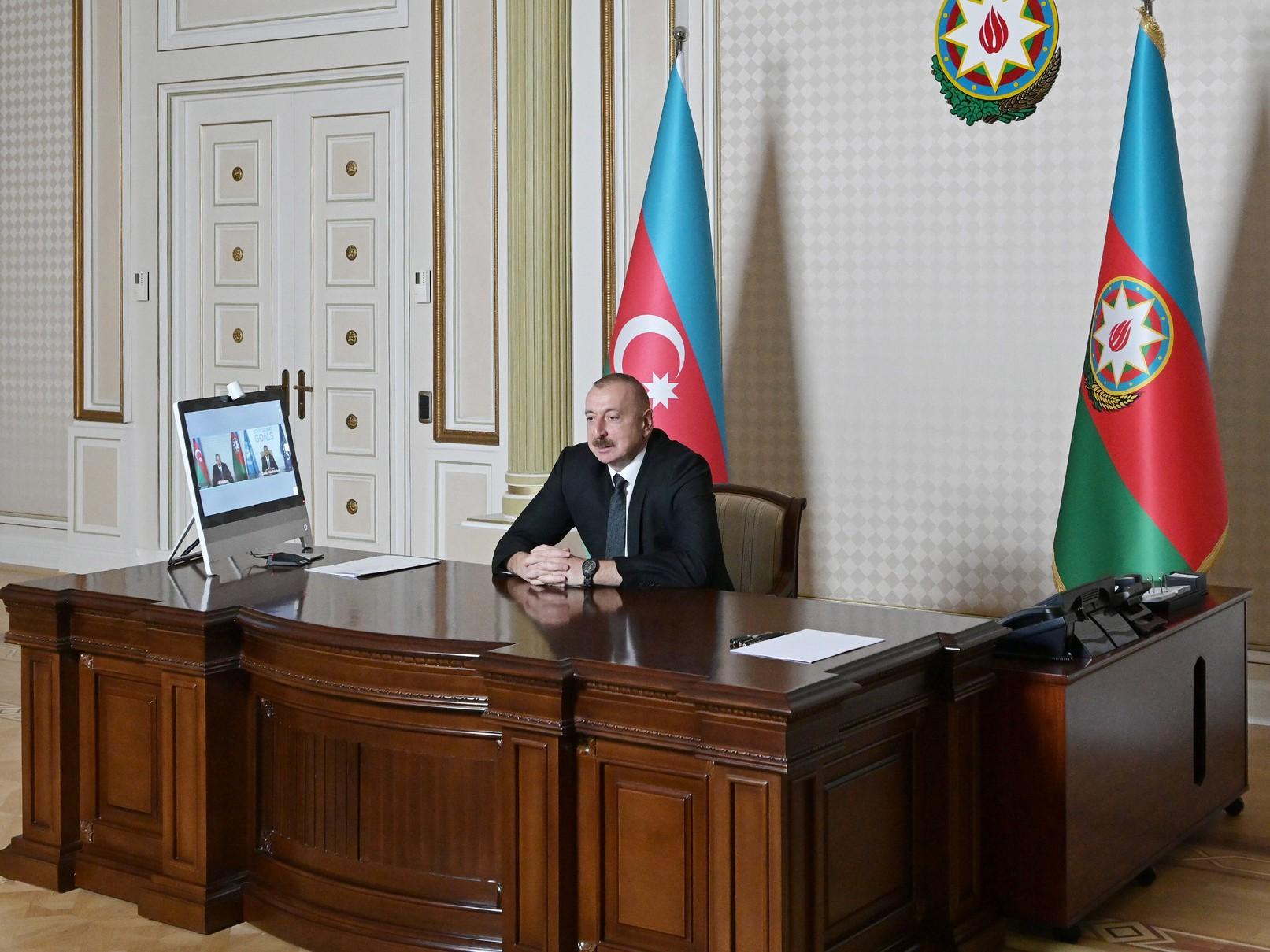 >Azərbaycan Prezidenti İlham Əliyev və Ümumdünya Turizm Təşkilatının Baş katibi arasında videokonfrans keçirilib