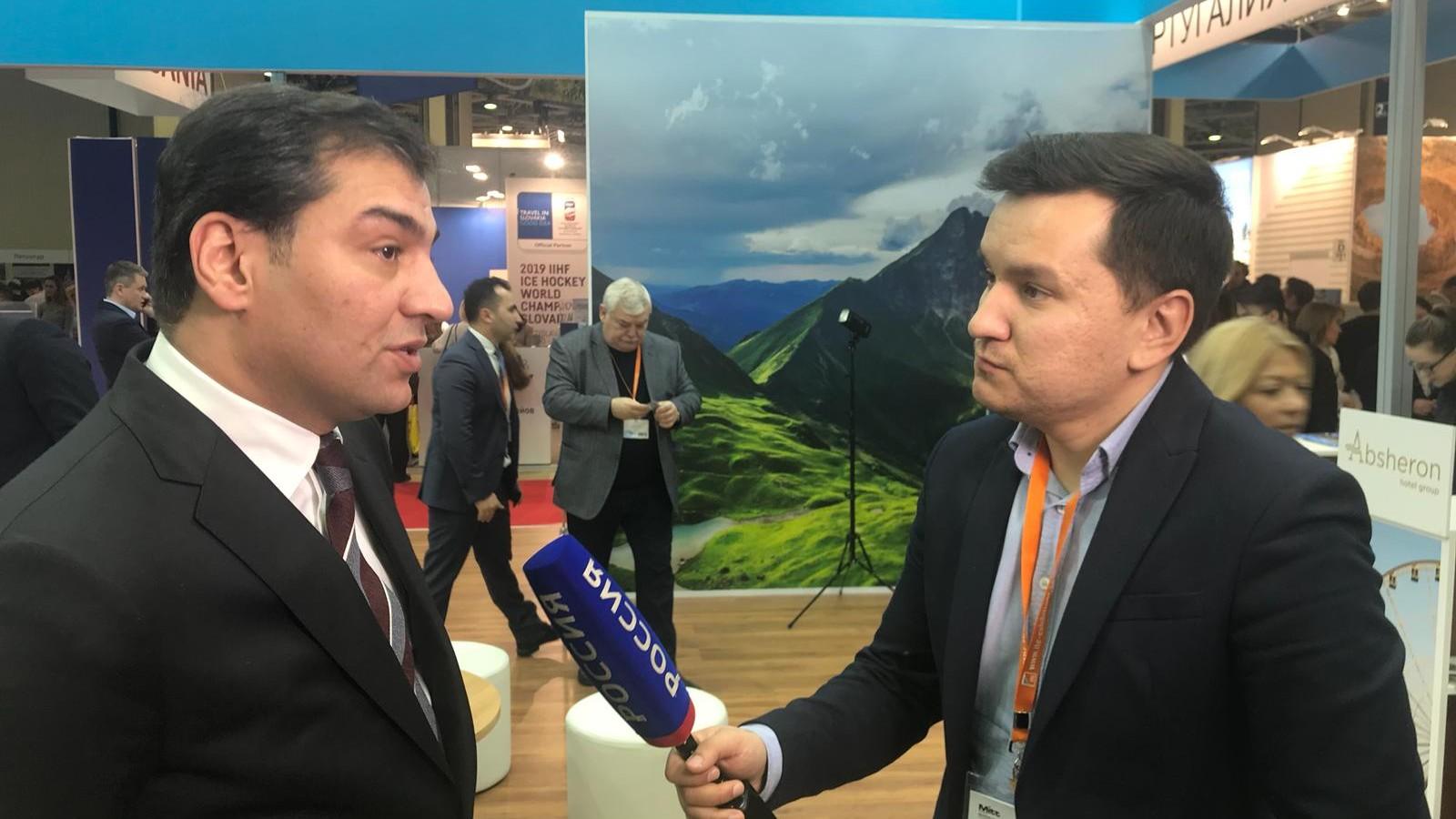 Fuad Nağıyev rusiyalı turistləri Azərbaycana dəvət edib