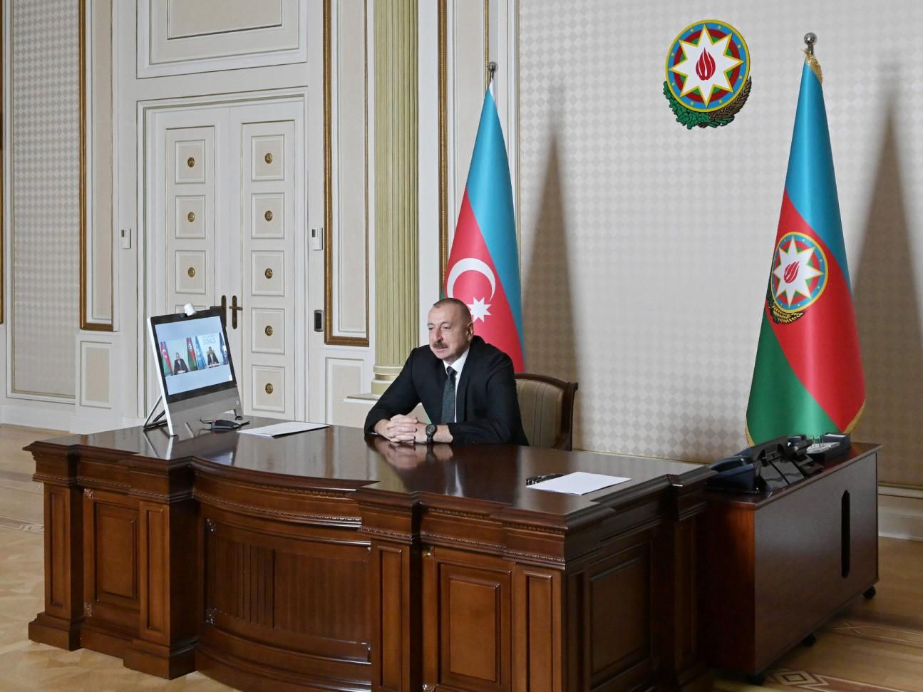 Azərbaycan Prezidenti İlham Əliyev və Ümumdünya Turizm Təşkilatının Baş katibi arasında videokonfrans keçirilib